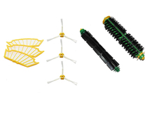Bristle & Flexible Beater Brush 3-Armed Filter Replacement for iRobot Roomba 500 Series Vacuum Cleaner 520 530 540 550 560(China)