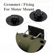 black color grommet to fix hook motor racket on boat inflatable boat part accessory