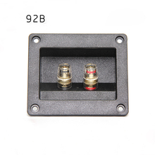Buy Audio Cable Connector Panel Speaker Junction Box Two Terminal Copper Speaker Line Wiring Board Plastic DIY Speaker Accessories for $10.88 in AliExpress store