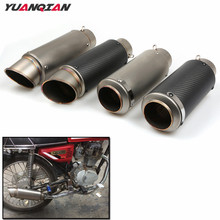 Motorcycle Exhaust Pipe Scooter Modified 51 61MM  Exhaust Muffler Pipe For Honda CG125 MSX125 PCX125 MSX PCX CG 125 250 All Year