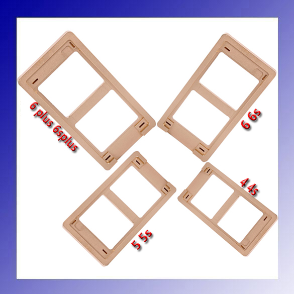 Universal Metal Mould molds for Iphone4 4S 5 5S 6 6S 6 Plus 6S Plus LCD Screen Assembling Mould<br>