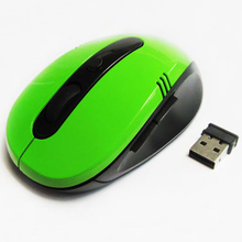 2017 Laptop Controller Mouse 2.4Ghz Wireless Optical Gaming Mouse USB 2.0 Receiver Mice PC Notebook Computer(China)