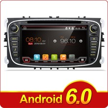 2Din 7 Inch 1024*600 Car DVD for FORD FOCUS 2 MONDEO S-MAX 2008-2011 With WIFI Radio GPS RDS BT ford car dvd focus(China)
