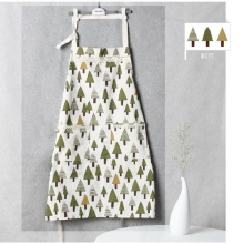 New Cute Cotton and Linen Kitchen Apron for Woman Cooking Supplies delantal cocina(China)