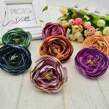 Cheap Artificial Flower, Flores Art Shoes Hat Wedding Party Car Home Decorative Peony Flower(China)