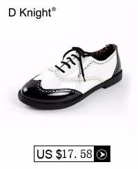 Fashion Color Block Patent Leather Round Toe Lace Up Women Oxfords Vintage Flat Oxford Shoes For Women Plus Size 43 Shoes Woman