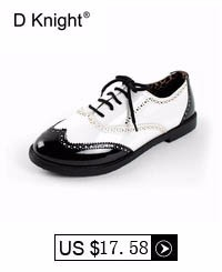 Fashion Color Block Patent Leather Round Toe Lace Up Women Oxfords Vintage Flat Oxford Shoes For Women Plus Size 43 Shoes Woman