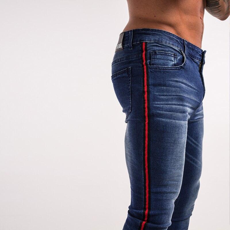 gingtto-men-skinny-jeans-dark-blue-red-stripe-stretch-jeans-zm20-4