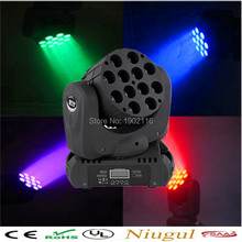12x12W LED beam moving head light LED wash linear beam rgbw 4in1 color with advanced 11/15 dmx channels dj disco show lighting