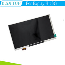 New 7'' inch LCD display Matrix For Explay Hit 3G Tablet inner TFT LCD Screen Panel Lens Module Glass Replacement Free shipping