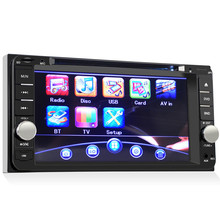 7Inch Universal Car DVD Player Stereo Radio USB For Toyota Hilux Land Cruiser Corolla Camry