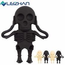 LEIZHAN 16GB Pendrives for Halloween Gift  Skull or Ghost 4GB 8GB 32GB USB Flash Pen Drive USB Flash Drive Memory Card USB Stick