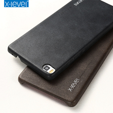 For Huawei P8 Lite Case Leather Cover Luxury Full Phone Protective Black Brown Cases for Huawei P8 Lite Accessories Cover Coque