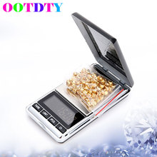 OOTDTY Digital Pocket Scale Mini Electronic Jewelry Diamond Gram 300g 0.01g MY6_10 - Niu Besting Store store