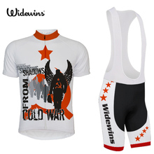 shadows from cold war Team Racing Cycling Jersey Summer Bicycle Cycling Clothing Ropa Ciclismo Breathable MTB Bike Jersey 5499(China)