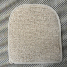 free shipping 100pcs/lot Plant a bath towel Natural Hemp massage bath towel Sauna massage rubbing sisal bath gloves(China)