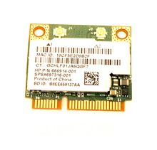 Wireless Adapter Card for  HP 350 G1 Genuine Laptop WIFI Wireless Bluetooth Card BCM943228HMB 666914-001