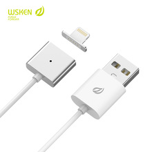 Original WSKEN Magnetic Charging Charger Adapter Cable for Apple iPhone 5 5s SE 6 6s plus 7 7plus  iPad Air iPod 5