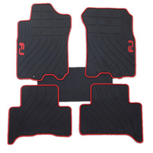 personality no odor waterproof non slip easy clean special rubber car floor mats for Prado 4700/2700 FJ/ land cruiser Highlander(China)