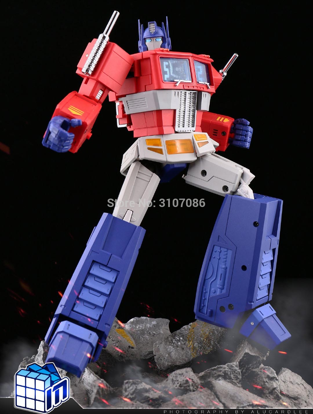 Transformers MS-TOYS Optimus Prime MS-01X Metal color Commander MP3.0