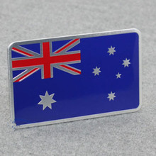 Metal New Australia Car Body Trunk Lid Sticker Badge Emblems FIT for  BMW AUDI 2016