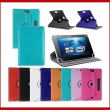 For Hipstreet Flare/Flare 2 9inch 360 Degree Rotating Universal Tablet PU Leather cover case