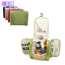 HMUNII 2017 Hot Sale! Large Hanging Travel Man Deluxe Toiletry Bag Wash Makeup Organizer Pouch Women Big Cosmetic Bags Bulk