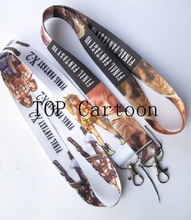 Free Shipping 100 Pcs Popular FINAL FANTASY Key Chains Mobile Phone Neck Straps Keys Camera ID Card Lanyard  T21