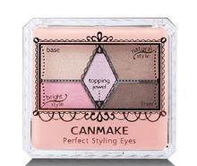 Hot Japan Original Authentic COSME Awards New Product CANMAKE Perfect Carved Nude Color 5 colors Eye Shadow Free Shipping