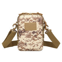 Storage Phone Accessories Small Tablet PC 10 Inch Riding Shoulder Bag Men Camouflage Sling Bag