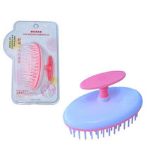Hot Sale New Shampoo Scalp Shower Body Washing Hair Massage Massager Brush Comb(China)