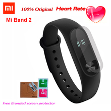Original Xiaomi Mi Band 2 Miband2 Wristband Bracelet With Smart Heart Rate Monitor Fitness Tracker Touchpad OLED Screen band2