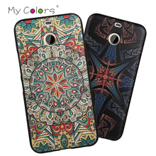 For HTC D10 evo Case 3D Pattern Sculpture TPU Cases Luxury Silicone Case For HTC D10 evo Painted Soft Back Cover(China)