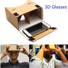 HESTIA Google Cardboard 3d Glasses Virtual Reality Glasses Vr Box DIY Google Vr Cardboard 3d Glass For Iphone Huawei 6 Sony