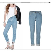 Women Skinny Jeans 2017 Spring Western Fashion New Sexy Slim Ripped Hole Springy Jeans