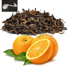 Beautiful Tea strainers+gift Orange Flavor Puerh Tea,Fruit flavor Loose Leaf Pu'er,Reduce Weight Ripe Pu-erh,CTX805