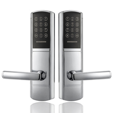 Digital Keyless Password Combination Lock Door With Mechanical Keys(China)