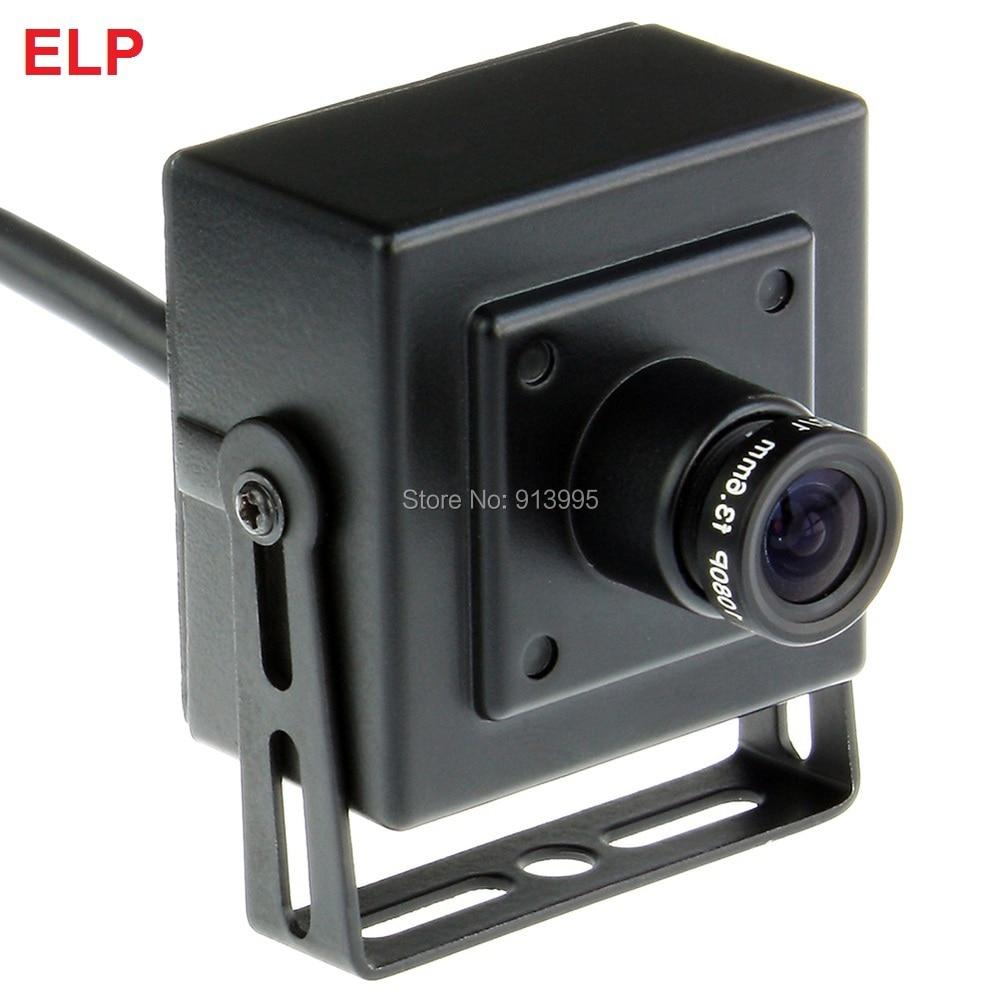 ELP mini box USB camera 5megapixel CMOS OV5640 3.6mm Lens Webcam Video Camera for Security or  Industrial Machine Vision System <br><br>Aliexpress