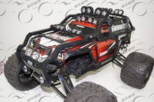 Body protective Roll Cage w/ Top LED Lights Bar For 1/10 TRAXXAS S SUMMIT monster truck RC(China)