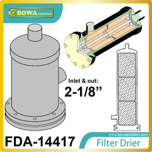 FDA-14417 filter drierselect a connection size and then check that the application is within the refrigeration capacity limits