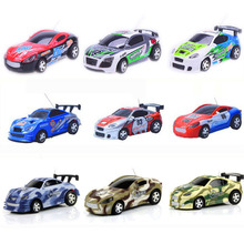 Amazing 16 Colors 4CH 1/64 Coke Can Car Mini RC Car Poker Mini Remote Control Car Vechice Models RC Toys for Boys