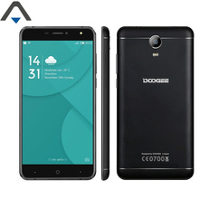 Doogee X7 Pro cell Phone Android 6.0 Quad Core 2GB RAM 16GB ROM 6 inch 13MP camera 720P HD 3700mAh 4G Smartphone fast charge