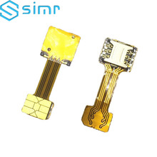 Double Dual SIM Card Adapter for Android extension TWO 2 Nano SIM micro-SD memory Card Converter XIAOMI REDMI NOTE 3 4 3s PRO