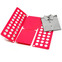 Cloth board Magic Fast Speed Clothes/Laundry/ Child Folder Clothes T Shirt Fold Board Organizer(China)