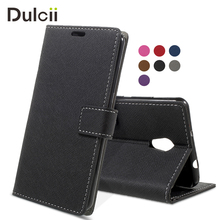 DULCII Phone Case for Lenovo Vibe P2/ P2 P2c72 P2a42 Cases Cross Texture Wallet Flip Case (PU Leather+TPU) for Lenovo P 2 cover(China)