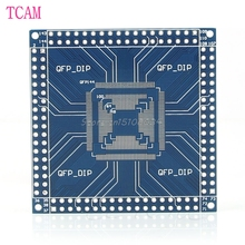 New QFP/TQFP/LQFP 32/44/48/64/100/144 pin to DIP Pin Board Adapter Converter Module -S018 High Quality