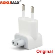 SOKUMAX Original Euro Pin Plug AC Duck Head iPad Air Pro 10W 12W MacBook Wall Charger Power Adapter Replacement EU European