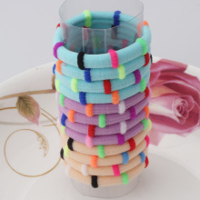 1pack=12pcs Colorful Hair Accessories Rubber Headbands Cute Hair Ring Gum for Hair Girls Elastic Hair Bands(China)