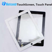 Cheap Touch Screen Digitizer Front Touch Panel Glass Lens for iPad 2 TouchScreen Replacement Spare Parts TP Repair Accessories