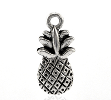 50PCs Fruits Charms Vintage Necklaces Pendants Fit Jewelry For Fruit Lovers Charms For Jewelry Making 19x9mm